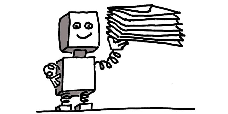 Robotic Emails demo